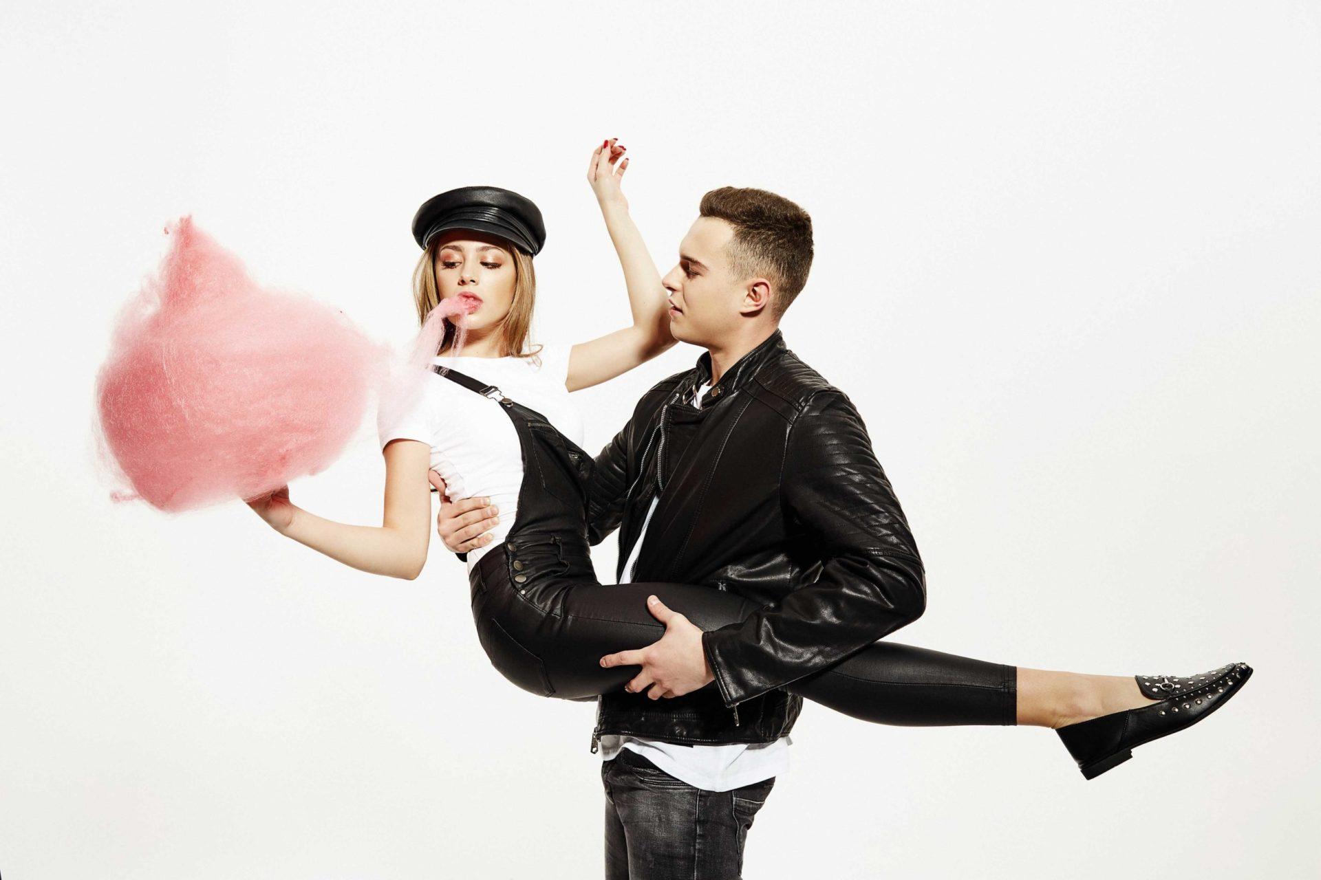 Zdrójkowski i Gąsiewska w Walentynkowej Sesji - #Lovebirds