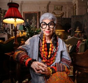 97 letnia Iris Apfel została modelką
