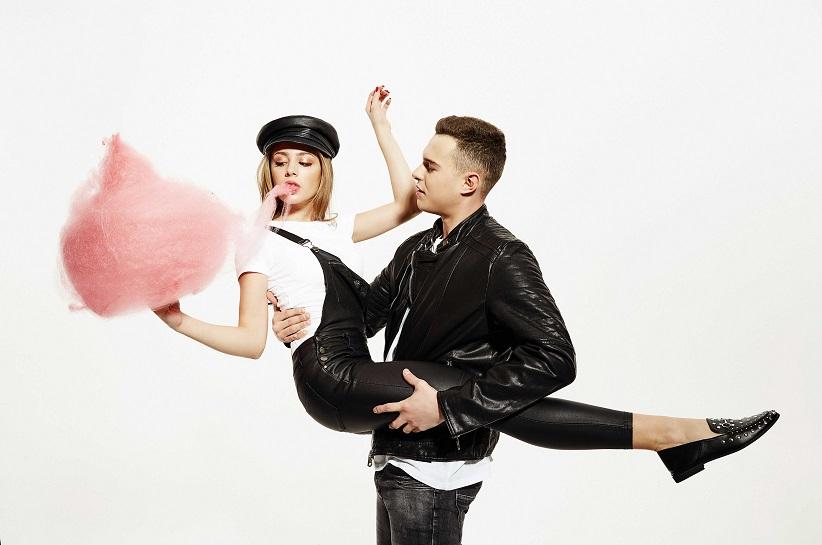 Zdrójkowski i Gąsiewska w Walentynkowej Sesji – #Lovebirds