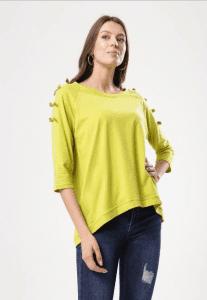 Neonowa bluzka