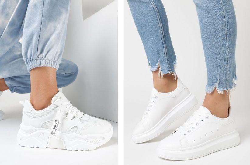 Białe sneakersy – stylizacje na każdą okazję