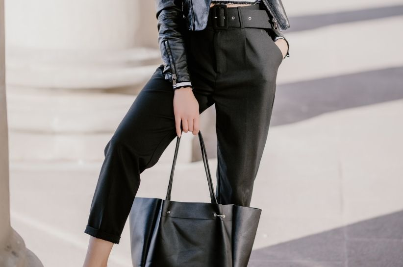 spodnie woskowane stylizacje