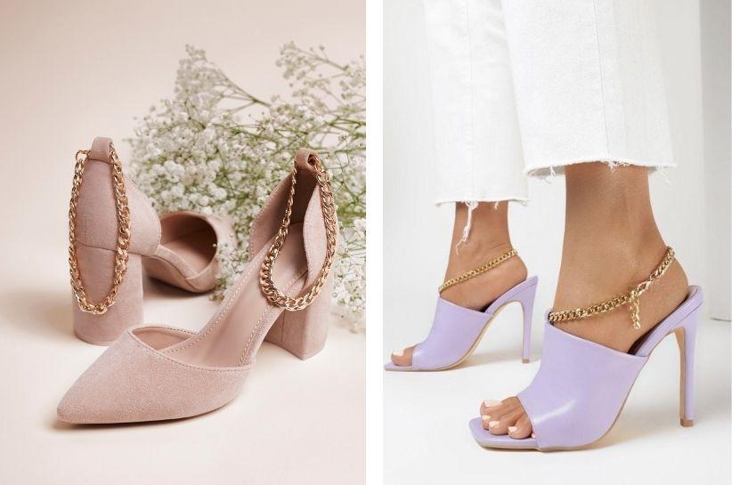 Sandały i klapki z łańcuszkiem – olśniewające letnie stylizacje z nutą glam!