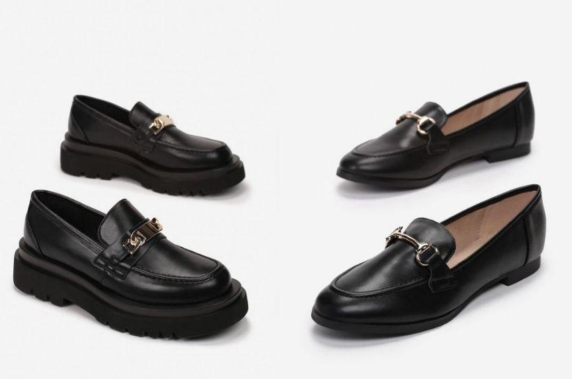 Stylizacje z czarnymi mokasynami damskimi – klasyka w kilku odsłonach