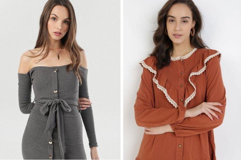 Zoom na detal, czyli sukienka z guzikami – stylizacje, w których się zakochasz