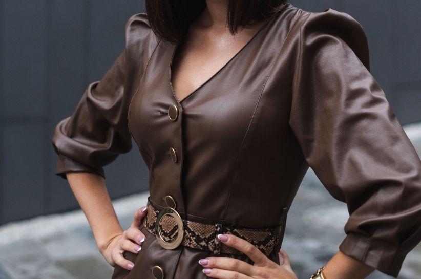 Sukienka skórzana na jesień i zimę. Stwórz stylizację z pazurem!